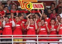 Glückwunsch! Der 1. FC Union steigt auf.