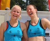 Deutsche Meister Beachvolleyball Jessica und Pia!