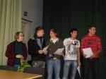 Feierstunde unser Titel 'Eliteschule des Jahres 2009'