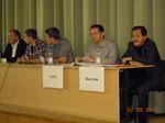 Podiumsdiskussion mit den Wahlkreiskandidaten
