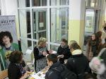 Ausbildungsmesse an der Flatow-Oberschule