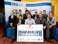 Melanie Bauschke im Team Berlin Leichtathletik