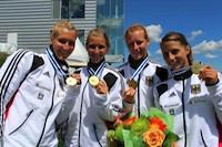 Debora Niche U23 Weltmeisterin, re