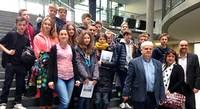 Deutsch-polnischer Schüleraustausch im Bundestag