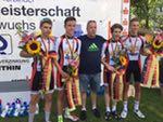 DM Rad: Mannschaftszeitfahren 2015