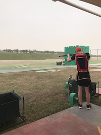 Jeremy - Qatar Open 2018, Shotgun